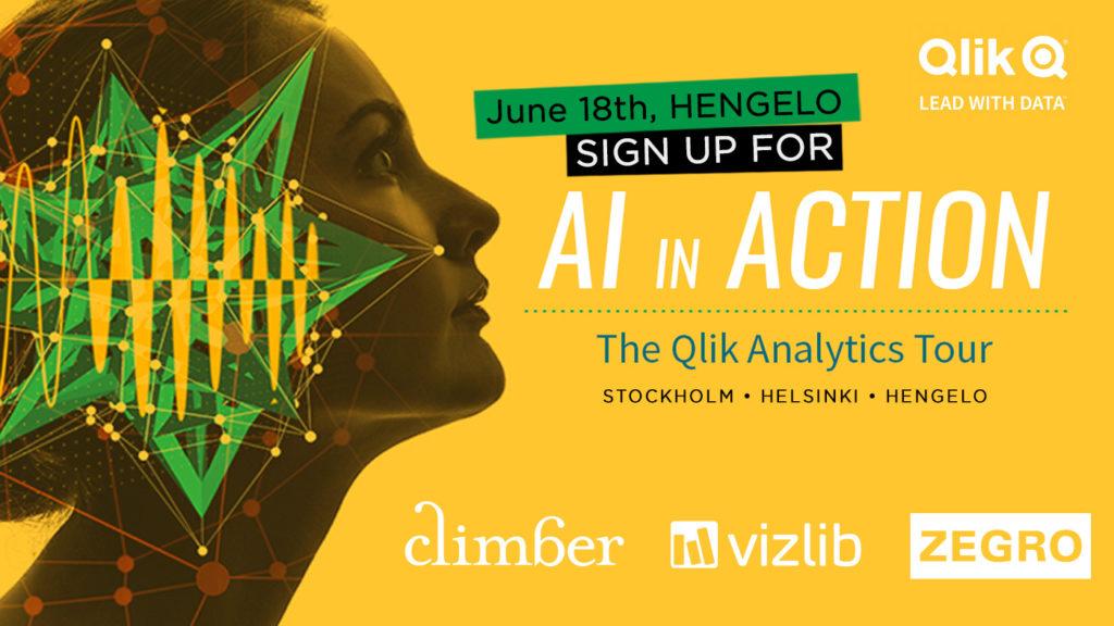 Qlik Analytics Tour: AI in Action with Climber and Vizlib