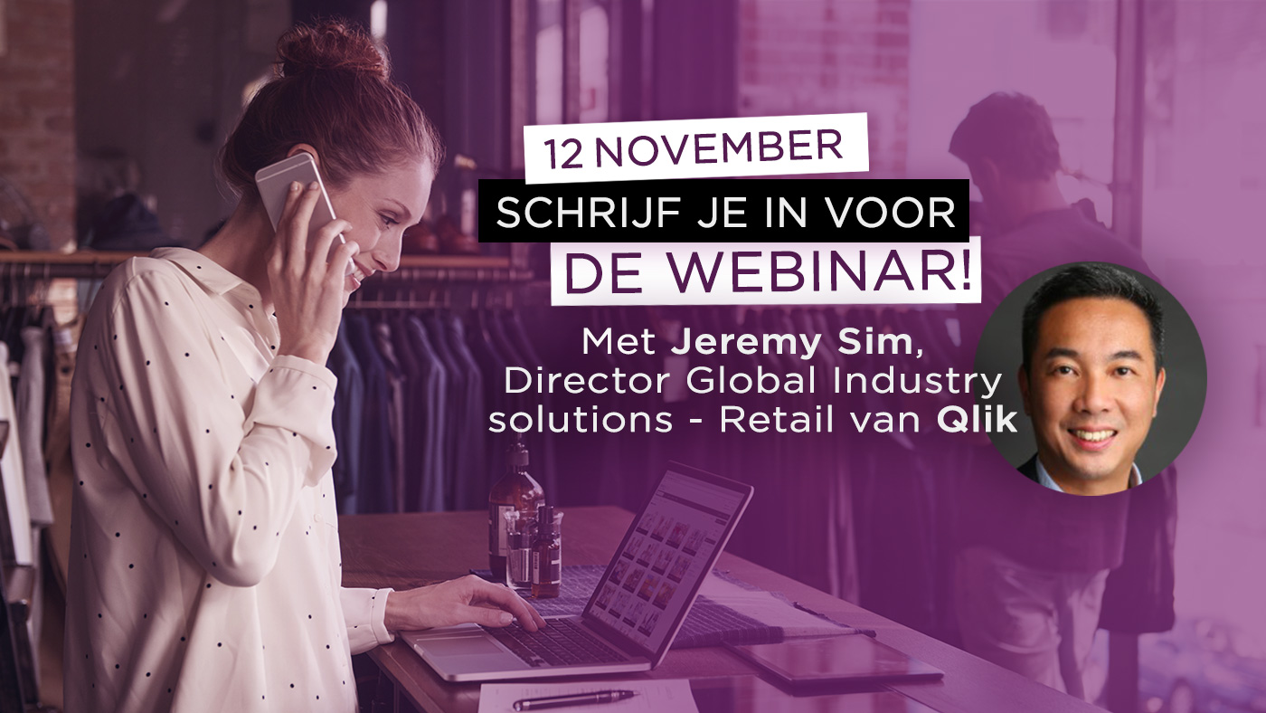 Climber Retail Webinar met Jeremy Sim van Qlik