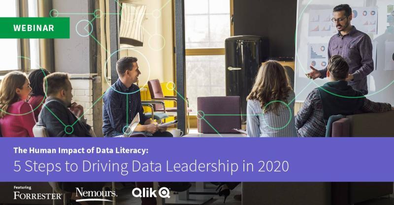 Qlik Webinar_5 steps to driving data literacy